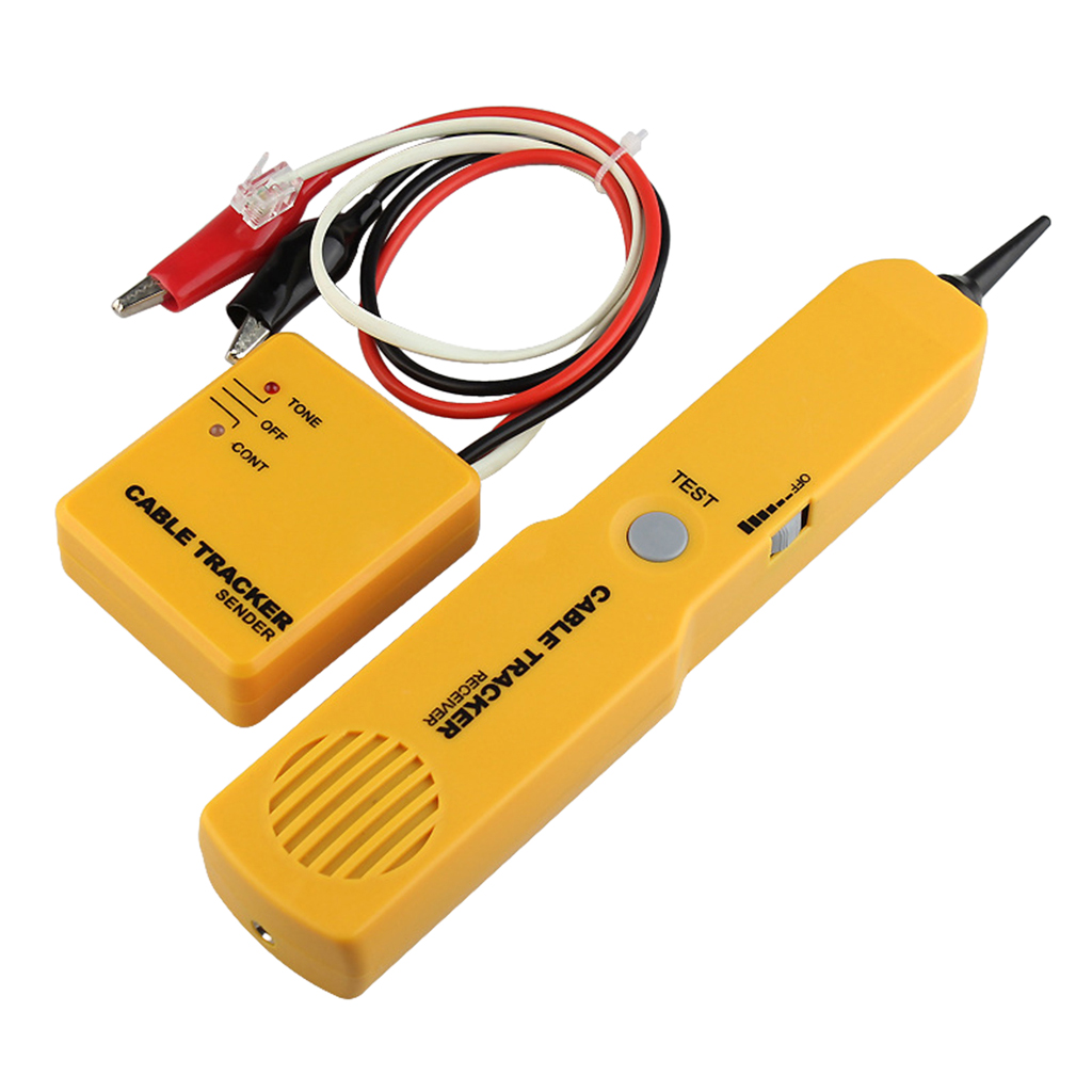 RJ11 Wire Tracker Cable Tester for Telephone/Ethernet LAN Cable Continuity Checking