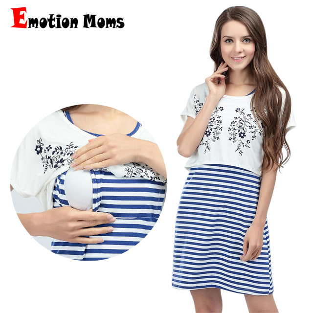 Emotion Moms New 2pcs Summer Maternity Clothes Maternity