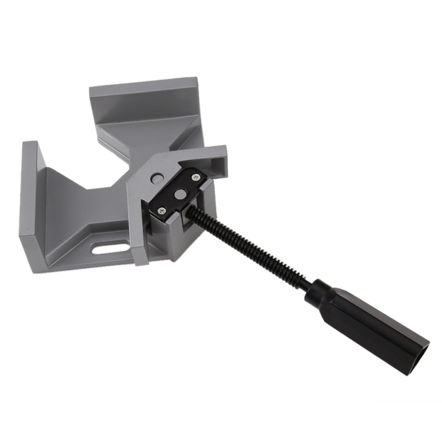 Die Casting 90 Degree Right Angle Table Vice Clamps Clip DIY Woodworking  Clip Photo Frame