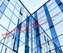 Conception innovante, Fabrication de rideaux en verre à Double peau et ingénierie, respiration intelligente