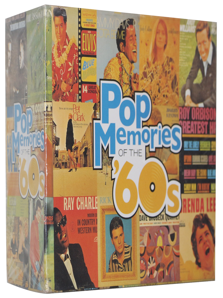 Free shipping Pop Memories Of The 60's music CD box complete set brand New factory sealed dropshipping welcome! cd диск enya the memory of trees 1 cd