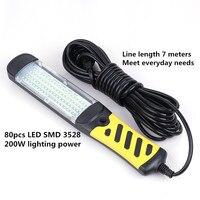 LED AC 220V plug-in weiß hand-gehalten arbeit licht auto wartung beleuchtung ausrüstung reparatur 4S shop wartung markt EU/AU/UK/US