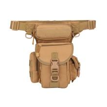 Men Multi-pocket Waist pack high quality Mountaineering sport Leg bag waterproof Fanny Pack Outdoor camping belt Toolkit