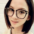 2014 Trend Large Eyewear Frame Fashion Women Men Optical Glasses Frame