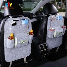 Хозяйственные автомобильные чехлы Дизайн Мода автомобильное сиденье сумка для хранения стиль многофункциональная Задняя сумка Детская безопасность сиденье для покупок автомобильный чехол