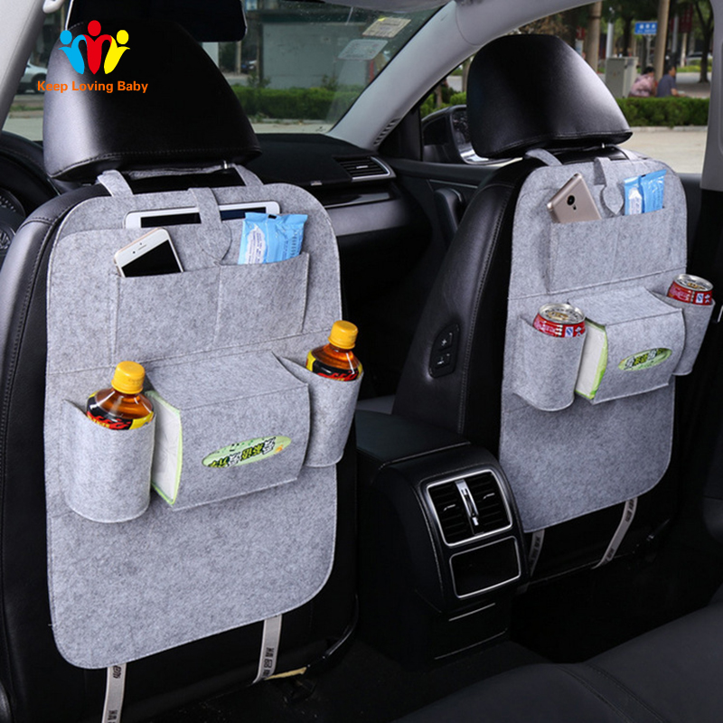 Shopping Car Covers Design Fashion Car Seat Storage Bag Styling Multifunction Back Bag Child Safety Seat Shopping Car Cover