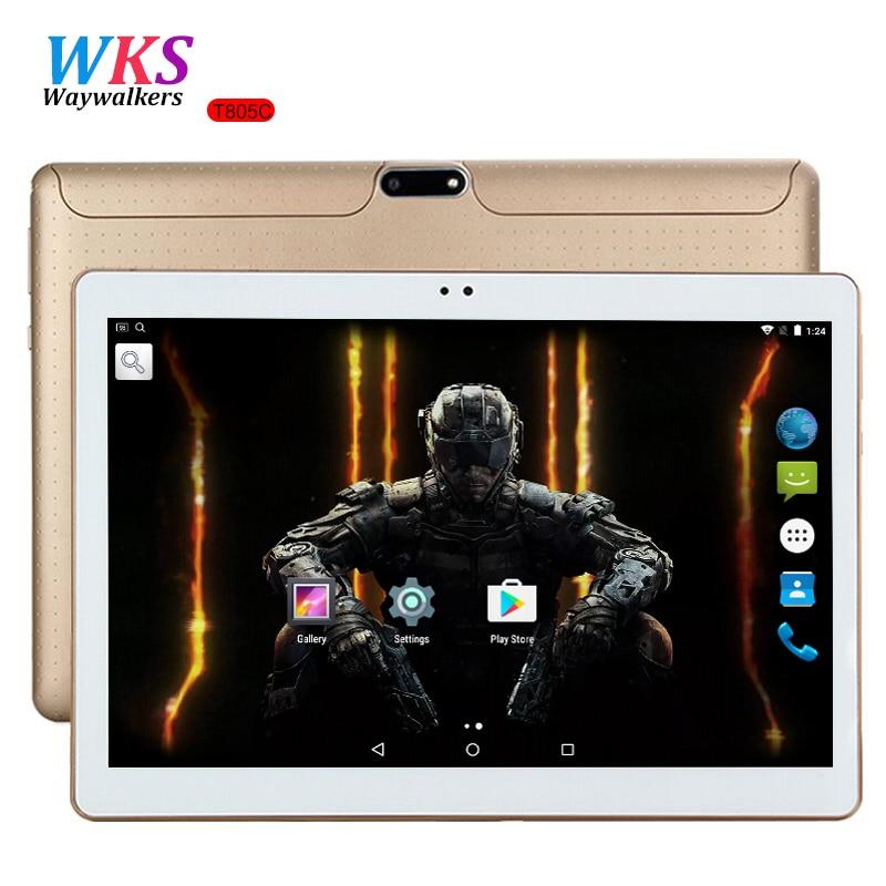 10 zoll tablet PC Octa-core Android 7.0 4 GB RAM 64 GB ROM 8 Core Dual-sim-karte GPS Bluetooth Anruf telefon Geschenke MID Tabletten 10 10,1