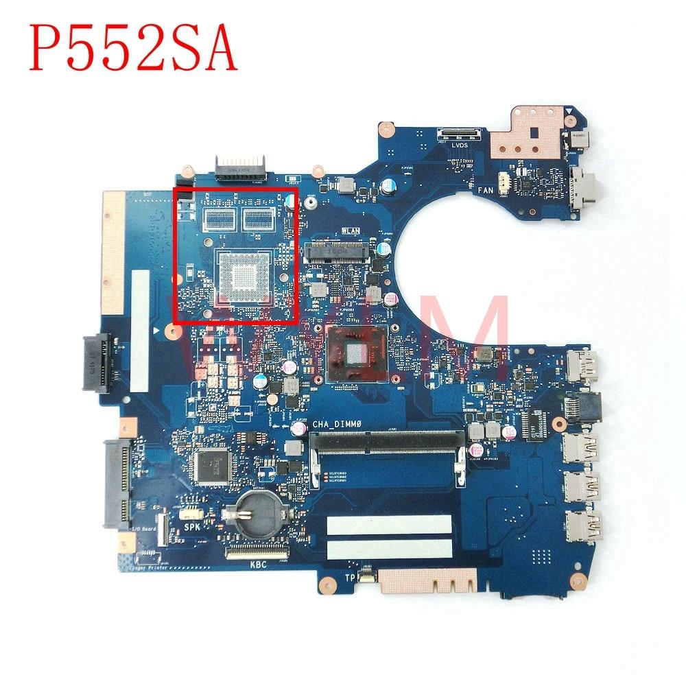 P552SA mainboard REV2.1 For ASUS P552SA P552SJ PRO552SJ Laptop notebook motherboard 60NX00P0-MB1510 100% Tested free shipping цена