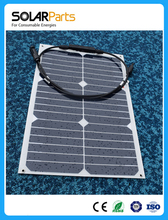 2pcs 18W Flexible high efficiency solar solar panel for outdoor and USB car charger
