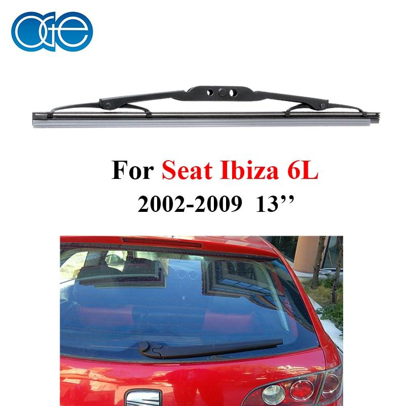 Prix pour OGE Arrière Pare-Brise Lame D'essuie-Glace Sans Bras Pour Seat Ibiza 6L 2002-2009 13 ''330mm, 1 pièce, caoutchouc, voiture complices D1-33