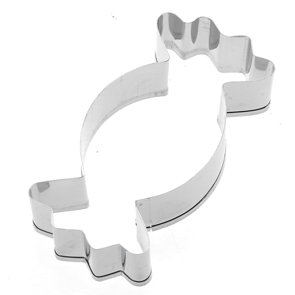 1pc Stainless Steel Candy Shape Cookie Cutter Mold For Biscuit Mousse Cake Chocolate Pastry Baking Moulds DIY Kitchen Accessory