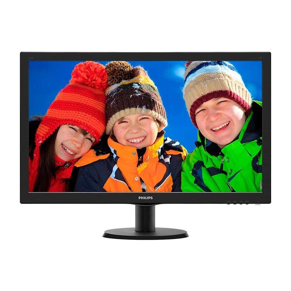 Computer & Office Computer Peripherals Monitors & Accessories LCD Monitors Philips 273V5LHSB-01 273v5lhsb
