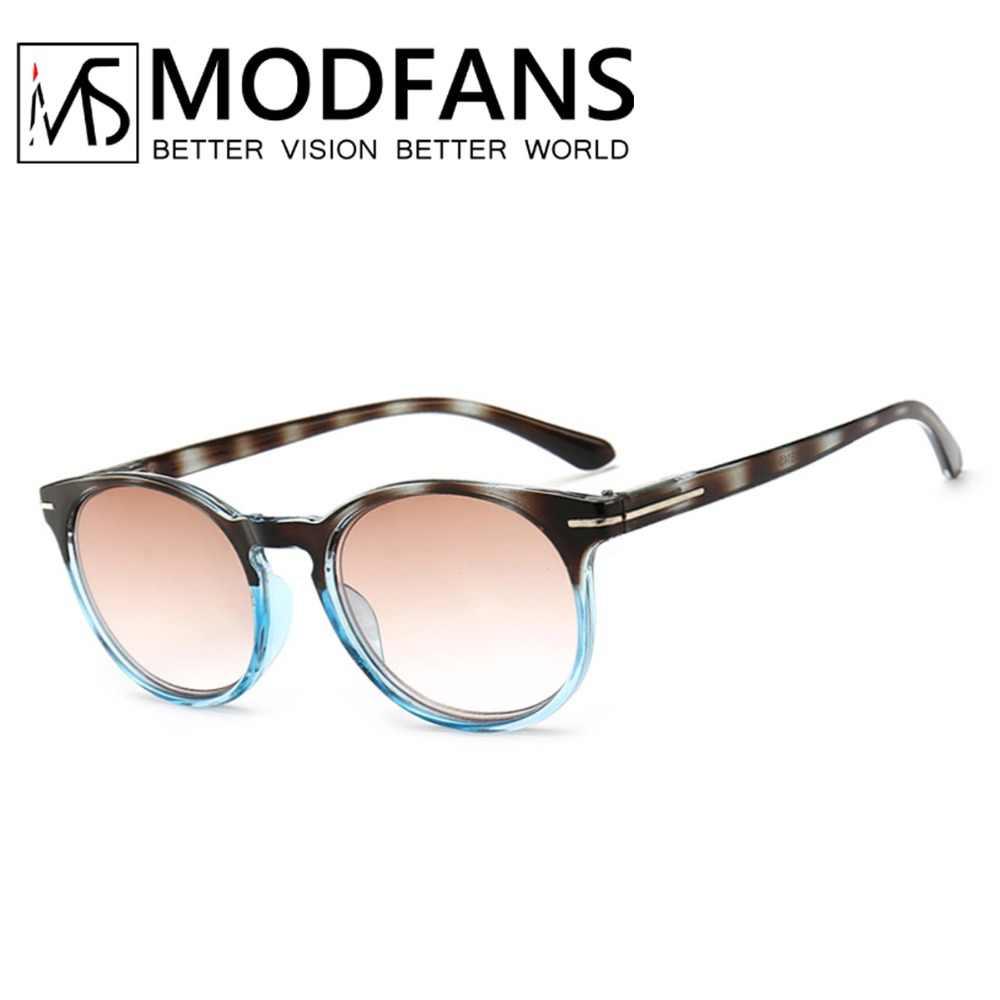 3c41d6dd6a Tinted Reading Glasses Men Women Gradient Grey Lens Anti UV400 Glass  Spectacles Retro Glasses 1.0 1.5