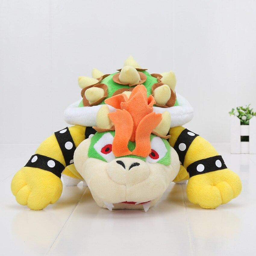 Super Mario plush font b toys b font 10 int Koopa Bowser dragon plush doll Brothers