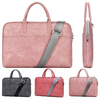Retro PU 13 13 3 14 15 15 6 Inch Laptop Notebook Tablet Bag Bags Case