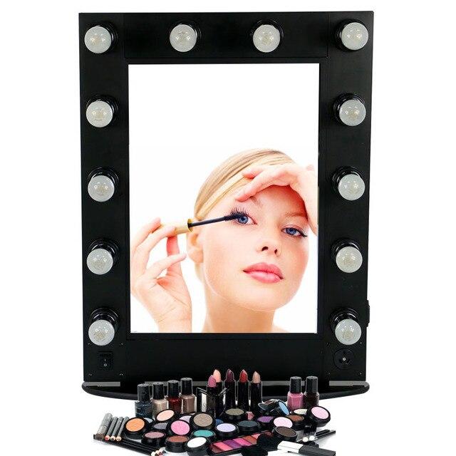 Specchi Professionali Per Trucco.Professionale Hollywood Style Alluminio Specchio Per Il Trucco Con