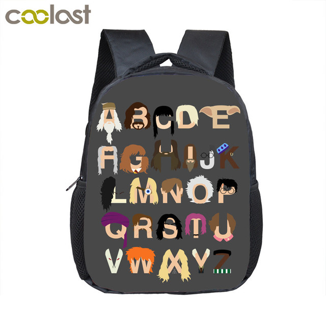 66be915bf810 Funny Cartoon Alphabet Backpack For 2-4 Years Old Kids Tollder Bag Children  School Bags