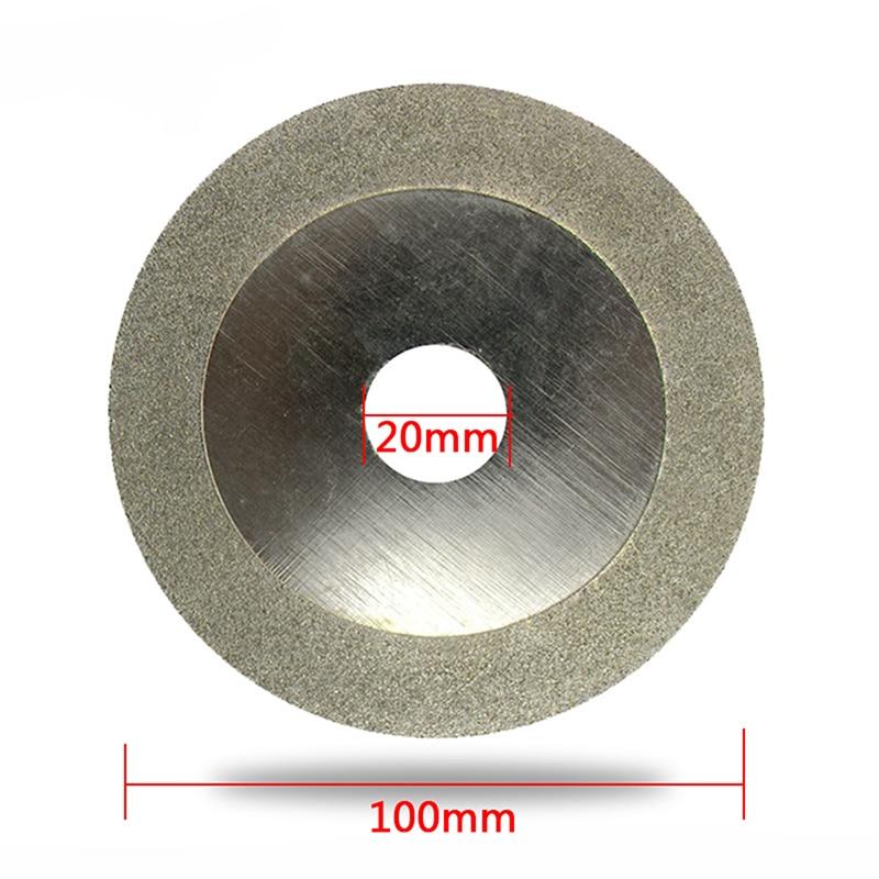 Disco diamantato da 100 mm per accessori per utensili rotanti Dremel - Utensili abrasivi - Fotografia 6