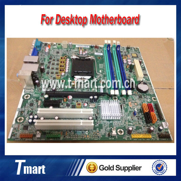 ФОТО 100% working Desktop motherboard for Lenovo M6300T M81 IS6XM 1155 Q65 03T8182 System Board fully tested