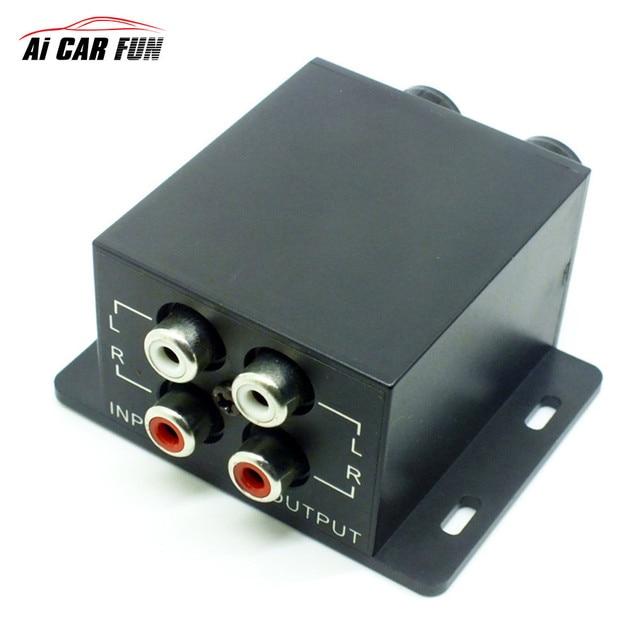 Wie kann man einen Autoverstärker anhaken?