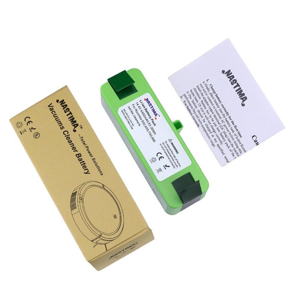 4400 mAh batterie li-ion compatible avec iRobot Roomba R3 500 600 700 800 900 Série 500 550 560 620 650 690 760 770 780 870 900 - 6