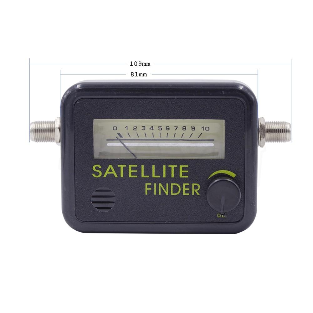 digital satellite finder meter fta lnb directv signal pointer satv satellite tv receiver tool. Black Bedroom Furniture Sets. Home Design Ideas