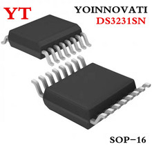 100 pçs/lote DS3231SN DS3231 SOP16 IC.