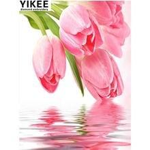 Картина для алмазной вышивки yikee k40 картина из квадратных