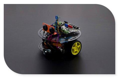 DFRobot Черепаха 2WD Основные Робот/3 PA Смарт Автомобильный Комплект для arduino, Romeo BLE + Servo + URM37 DSS-P05 Ультразвуковой Датчик и т. д. Поддержка IOS