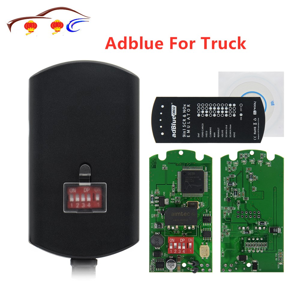 Универсальное обновление 8 в 1 для Adblue 9 в 1 эмуляция Adblue 8 в 1 не требуется какая-либо эмуляция программного обеспечения для грузовиков нескол...