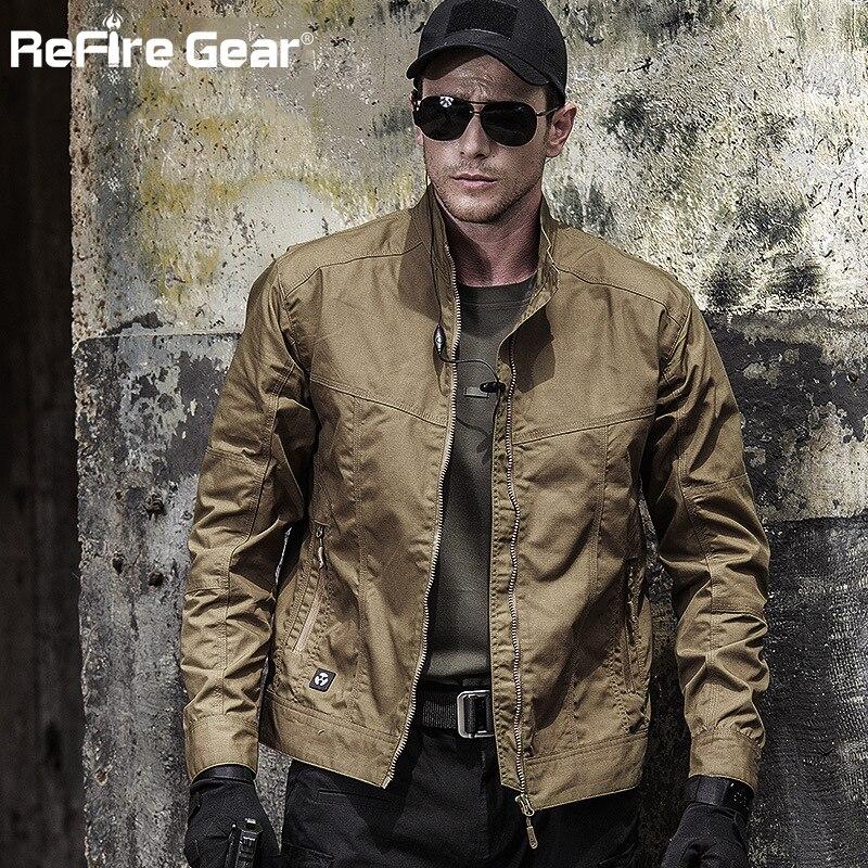 ฤดูใบไม้ร่วงชายสนามยุทธวิธี Bomber แจ็คเก็ต, เสื้อผ้าทหารกองกำลังพิเศษแจ็คเก็ต, ฤดูใบไม้ร่วงฤดูใบไม้ผลิ Casual ชาย Slim Pilot Coat-ใน แจ็กเก็ต จาก เสื้อผ้าผู้ชาย บน AliExpress - 11.11_สิบเอ็ด สิบเอ็ดวันคนโสด 1
