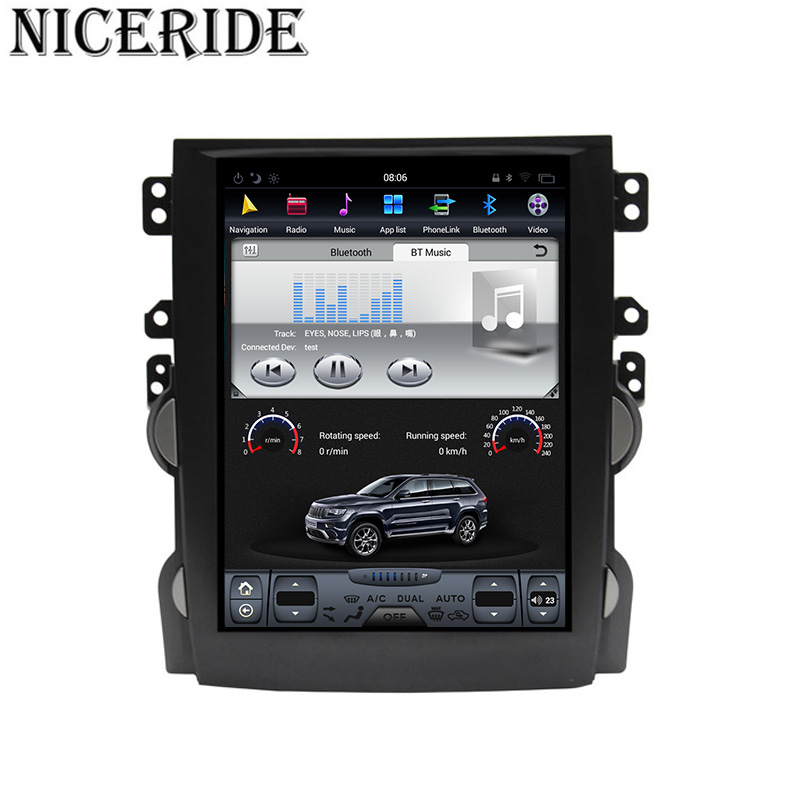 """Top Android 7.1 10.4"""" Tesla Vertical Touch Screen Gps Multimedia for Chevrolet Malibu 2010-2014 Video Radio Player In Dash Navigaton 4"""