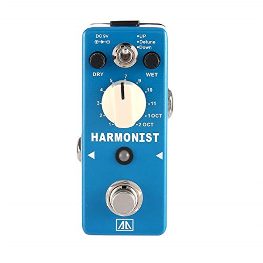 AROMA AHAR 5 HARMONIST Pitch Shifter Guitar Effect Pedal 3 Modes Pitch Shifting Harmony Effects Aluminum