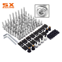 Motorcycle Scooter Complete Fairing Body Bolts Screw Set for ZX6R ZX7R ER6N Z800 Z1000 VERSYS650 ZX10R ZX14R NINJA 250R