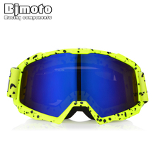 BJMOTO Man&Women Motocross Goggles MX Off Road Masque Helmets Glasses Ski Sport Gafas for Motorcycle Dirt Bike Racing Google