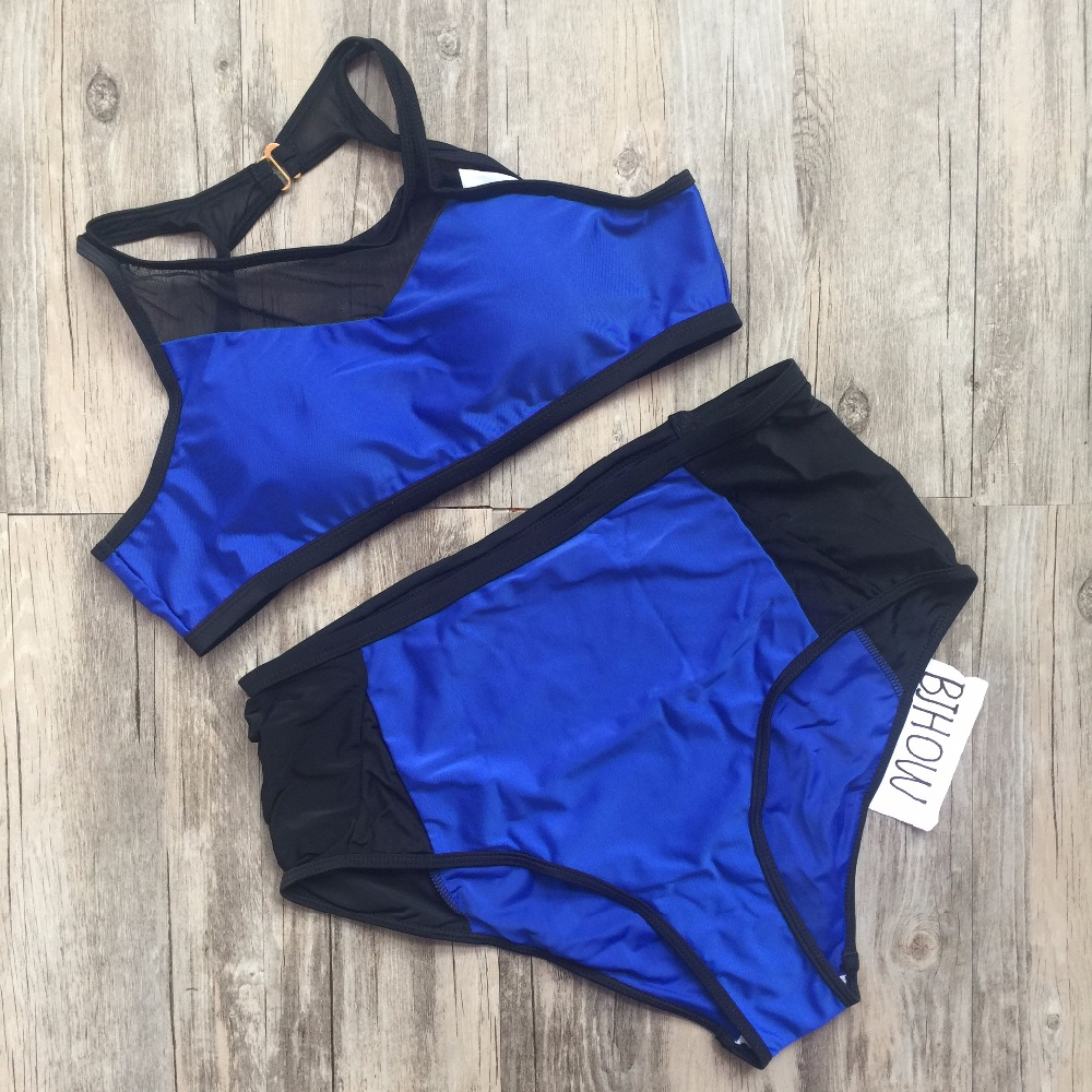 XL 4XL Plus Size Swimwear For Women One Pieces Swimsuits 2017 Summer Style New Sexy Solid
