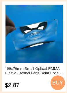 fresnel lens focal length