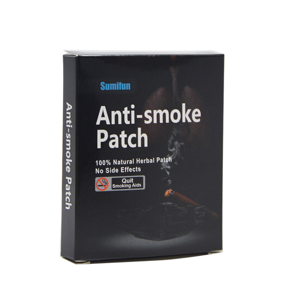 105 Patches=3box Sumifun 100% Natural Ingredient Stop Smoking &Anti Smoke Patch Quit Smoke Cessation Health Therapy D0584 3