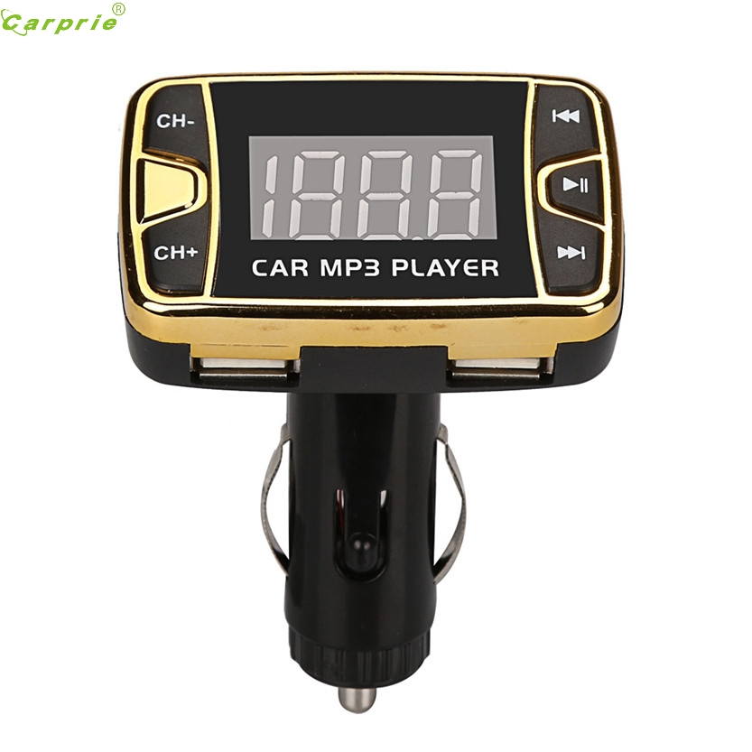 2017 MP3 Player car-styling FM Transmitter Wireless FM Transmitter Modulator Car Kit USB SD TF MMC LCD Remote Oct 18 7*