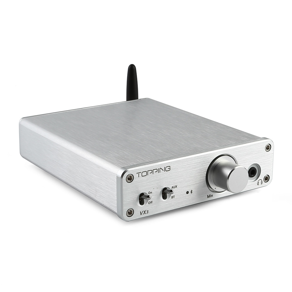 Brand TOPPING VX3 TPA3116D2 30W *2 Class D HiFi Power Stereo Amplifier Wireless Bluetooth 4.0 Mini Digital Audio Headphone amp