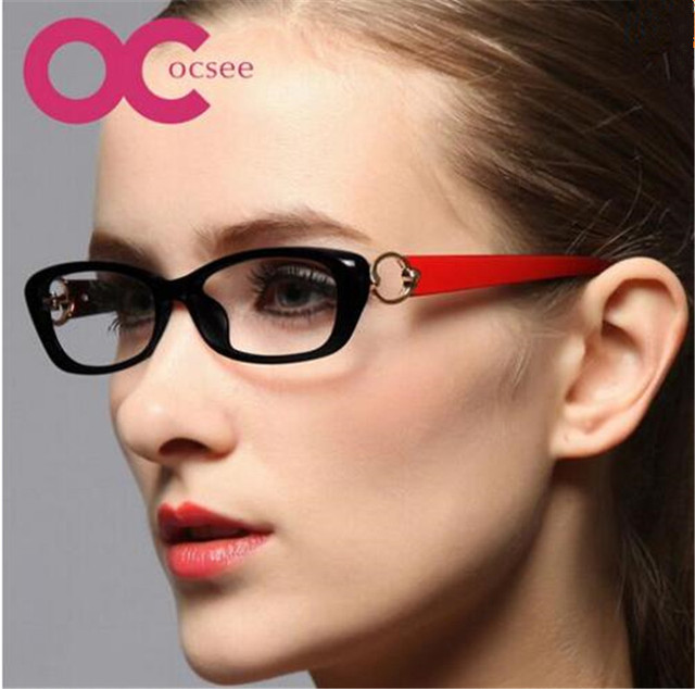2015 New Women Optical Glasses Frame Oculos Eyeglasses Anti-radiation Computer Glasses oculos masculino