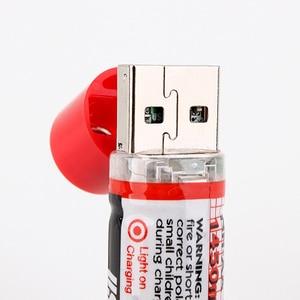 Image 5 - 8 قطعة/الوحدة 1.2 فولت 1450 مللي أمبير USB AA بطارية بطارية قابلة للشحن AA Nimh بطارية 1450 مللي أمبير USB AA مع مؤشر LED وحياة طويلة