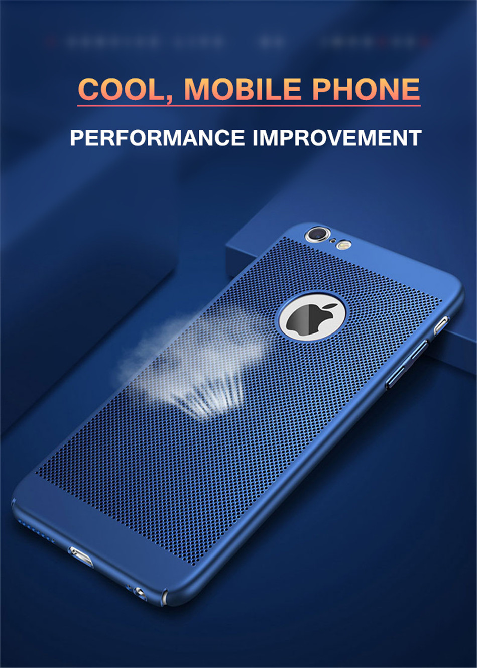 Heat dissipation iPhone Case - Hard Back PC Protect Shell 3