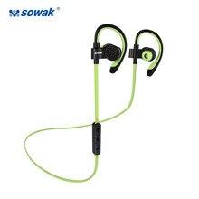 Sowak Q7 cuffie bluetooth senza fili sport in ear cuffie V4.1 Stereo Bass  Auricolari del Gancio Dell orecchio con il mic per il . 64d771480571