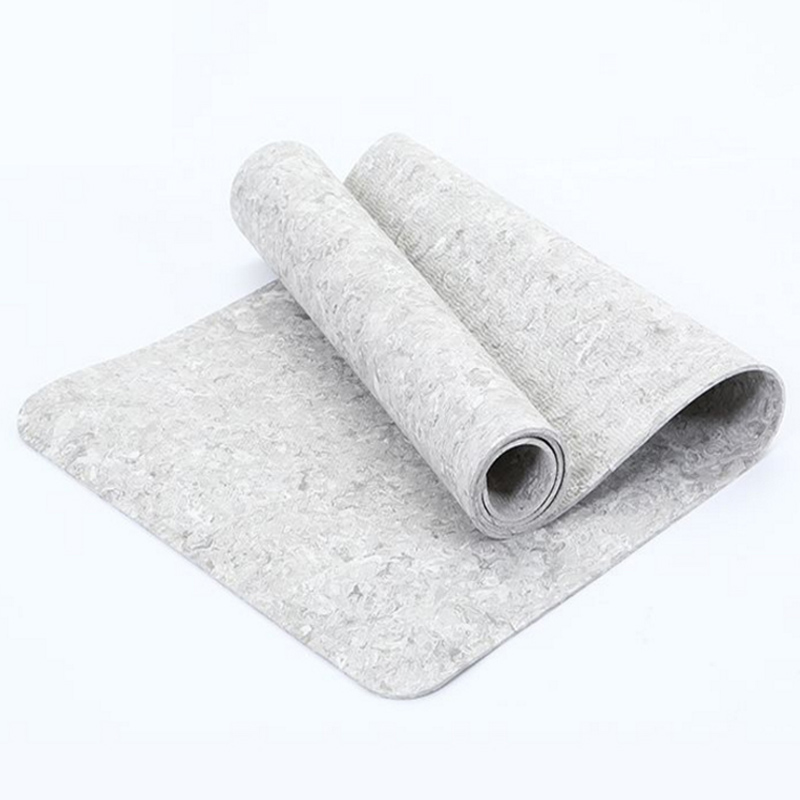 Camo Gray 5mm EVA GYM Mat Yoga Natural Rubber Tasteless Non slip Fitness Sports Anti fall