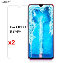 2pcs Glass For OPPO F9 Screen Protector Tempered  Protective Phone Film F 9