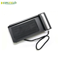 For Volvo S60 V60 mobile phone QI wireless charger phone holder center console armrest charging case accessories for iPhone 8 X