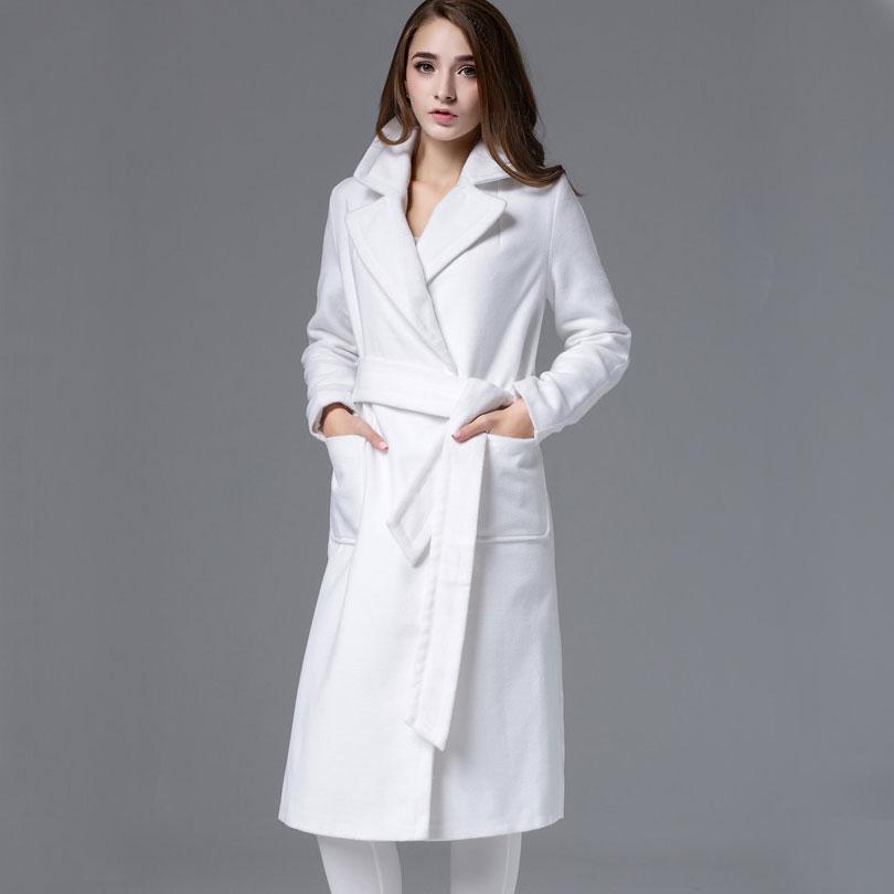 Online Get Cheap Womens Winter White Wool Coats -Aliexpress.com ...