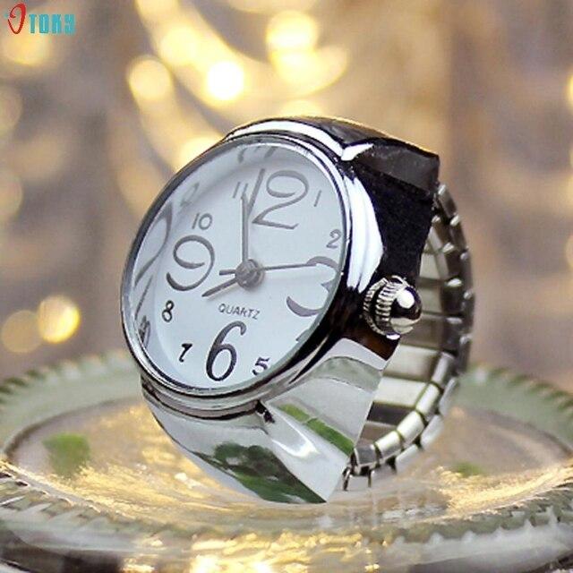 Finger Ring Dial Watch 2018 watch women bracelet Quartz Women Watches Analog Cre