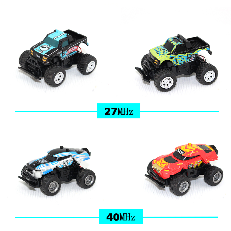 RC Car Off-road 1:58 4CH RC Cars Off-road Vehicles Toys Remote Control Model Toys Cars Toy Car Remote Children Best Gifts